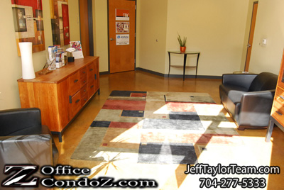 Uptown Charlotte Office Condo For Rent